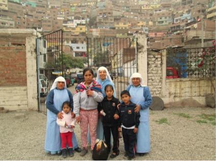 alleenstaande moeder met 4 kinderen